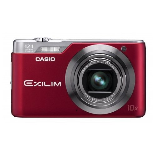 Фото Цифровые фотоаппараты Casio Exilim EX-H5 Red