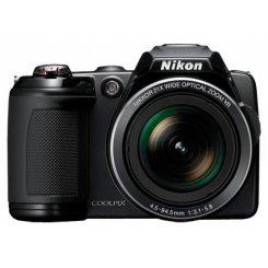 Фото Цифровые фотоаппараты Nikon Coolpix L120 Black