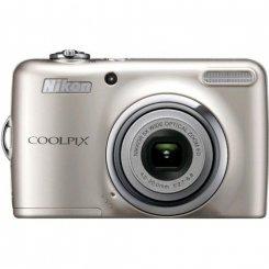 Фото Цифровые фотоаппараты Nikon Coolpix L23 Silver