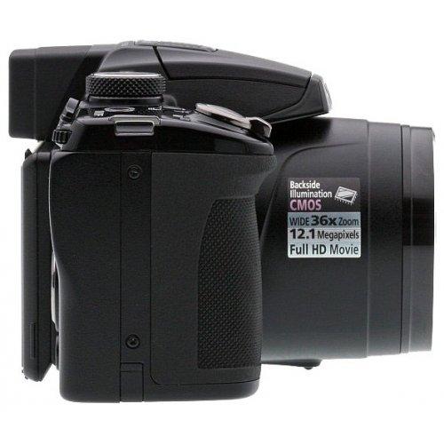 Фото Цифровые фотоаппараты Nikon Coolpix P500 Black