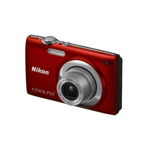 Фото Цифровые фотоаппараты Nikon Coolpix S2500 Red