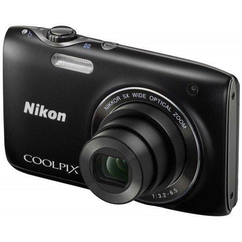 Фото Цифровые фотоаппараты Nikon Coolpix S3100 Black