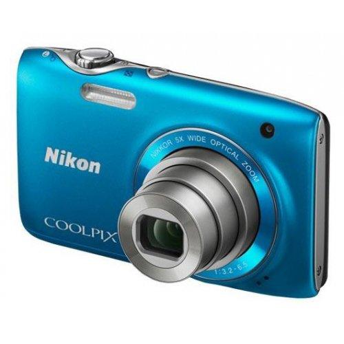 Фото Цифровые фотоаппараты Nikon Coolpix S3100 Blue