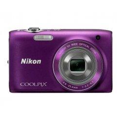 Фото Цифровые фотоаппараты Nikon Coolpix S3100 Purple