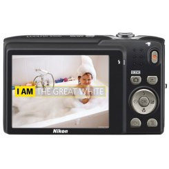 Фото Цифровые фотоаппараты Nikon Coolpix S3100 Red