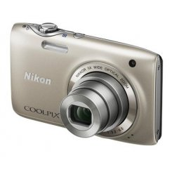 Фото Цифровые фотоаппараты Nikon Coolpix S3100 Silver