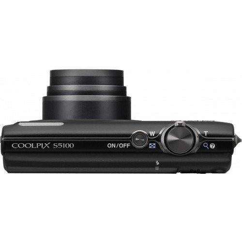 Фото Цифровые фотоаппараты Nikon Coolpix S5100 Black