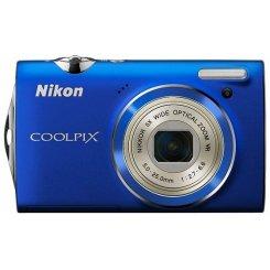 Фото Цифровые фотоаппараты Nikon Coolpix S5100 Blue