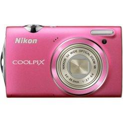 Фото Цифровые фотоаппараты Nikon Coolpix S5100 Pink
