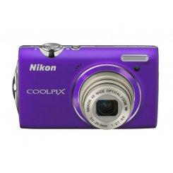 Фото Цифровые фотоаппараты Nikon Coolpix S5100 Purple