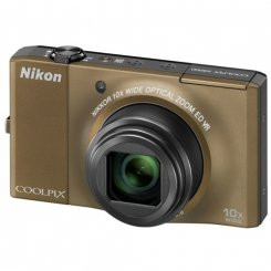 Фото Цифровые фотоаппараты Nikon Coolpix S8000 Brown