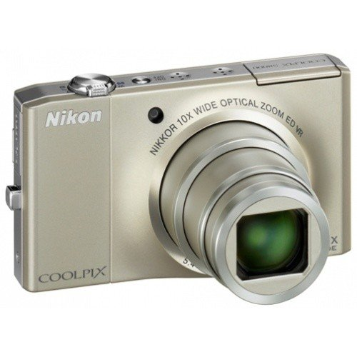 Фото Цифровые фотоаппараты Nikon Coolpix S8000 Silver
