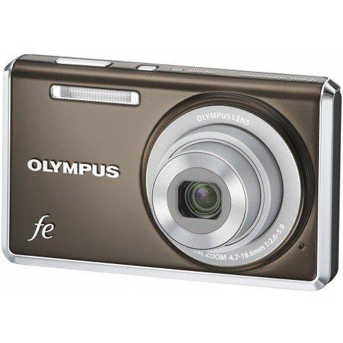 Фото Цифровые фотоаппараты Olympus FE-4030 Indium Grey
