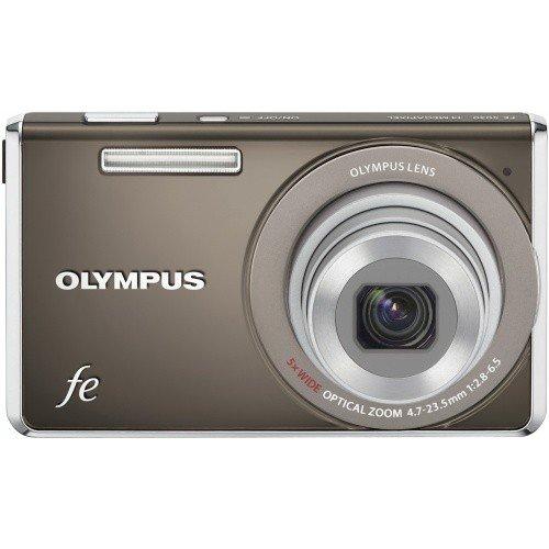 Фото Цифровые фотоаппараты Olympus FE-5035 Dark Grey