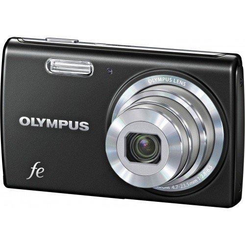 Фото Цифровые фотоаппараты Olympus FE-5040 Classic Black