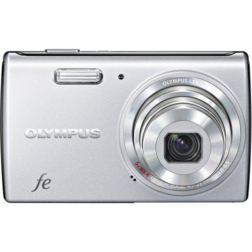 Фото Цифровые фотоаппараты Olympus FE-5040 Starry Silver