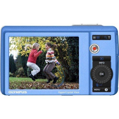 Фото Цифровые фотоаппараты Olympus Mju 5010 Light Blue