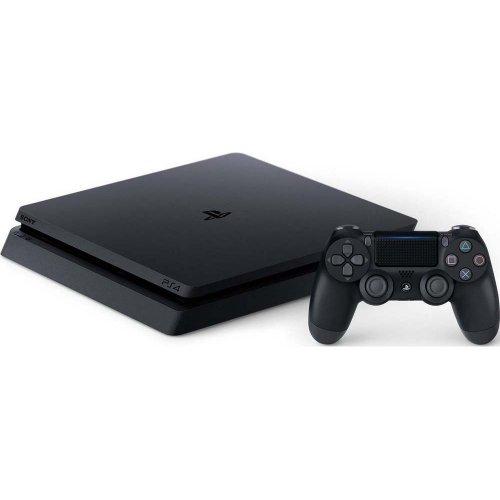 Фото Sony PlayStation 4 Slim 1TB DG+GTA V+HZD CE+FT+PSPlus 3М Black