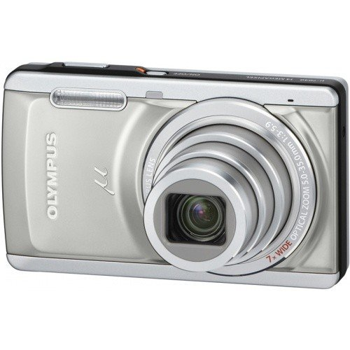 Фото Цифровые фотоаппараты Olympus Mju 7040 Titanium Silver