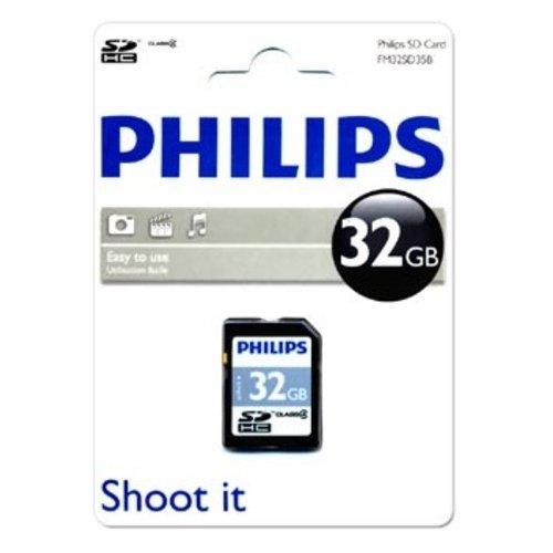 Фото Карта памяти Philips SDHC 32GB Class 4