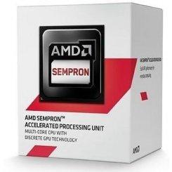 Фото Процессор AMD Sempron 3850 1.3Ghz 2MB sAM1 Box (SD3850JAHMBOX)