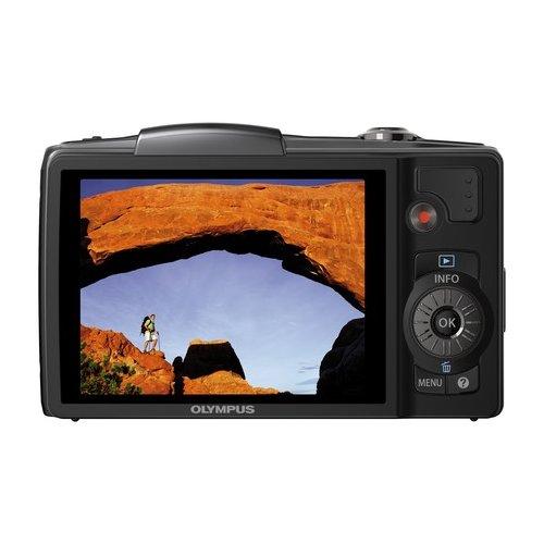 Фото Цифровые фотоаппараты Olympus SZ-20 Black