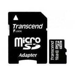 Фото Карта памяти Transcend microSDHC 16GB Class 10 UHS-I Ultimate 600X (с адаптером) (TS16GUSDHC10U1)