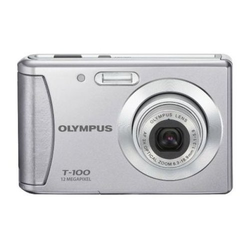 Фото Цифровые фотоаппараты Olympus T-100 Silver