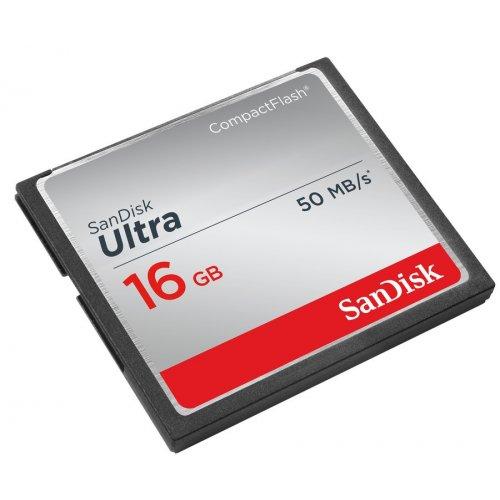 Фото Карта памяти SanDisk CF 16GB Ultra 50MB/s (SDCFHS-016G-G46)