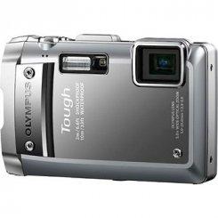 Фото Цифровые фотоаппараты Olympus TG-810 Silver