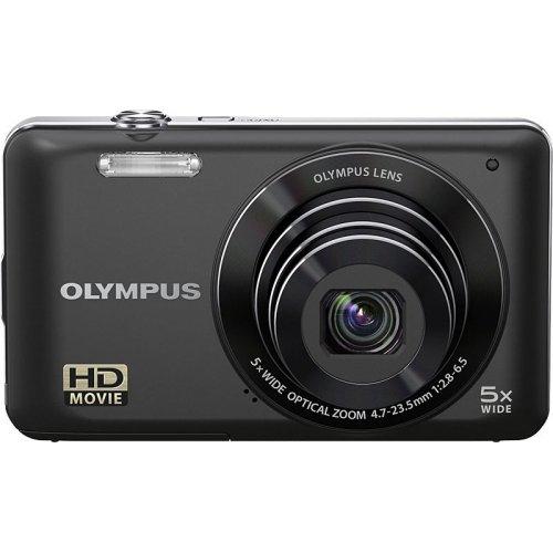 Фото Цифровые фотоаппараты Olympus VG-120 Black
