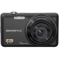 Фото Цифровые фотоаппараты Olympus VR-320 Black