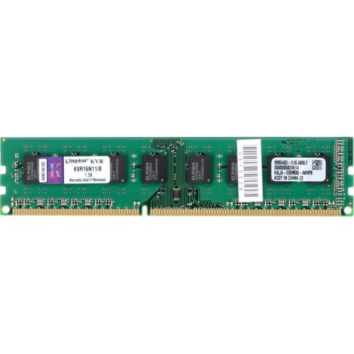 Фото ОЗУ Kingston DDR3 8GB 1600Mhz (KVR16N11/8)