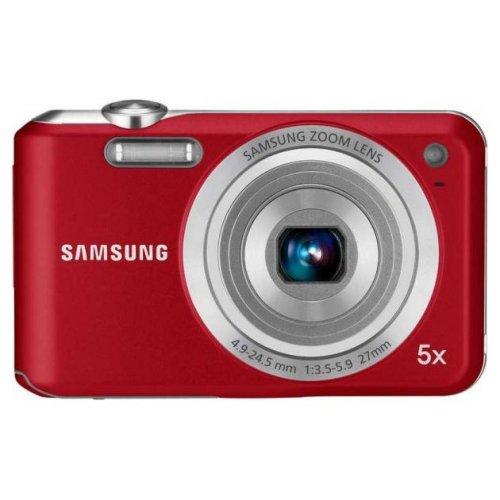 Фото Цифровые фотоаппараты Samsung ES70 Red