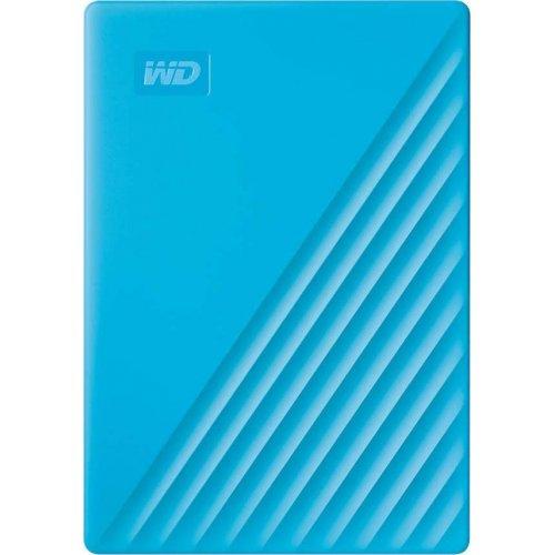 Купить Внешние HDD, Western Digital My Passport 4TB (WDBPKJ0040BBL-WESN) Blue