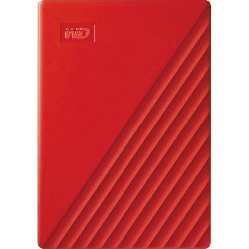 Купить Внешние HDD, Western Digital My Passport 4TB (WDBPKJ0040BRD-WESN) Red