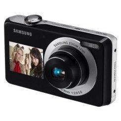 Фото Цифровые фотоаппараты Samsung PL100 Black