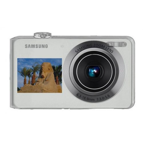 Фото Цифровые фотоаппараты Samsung PL100 Silver