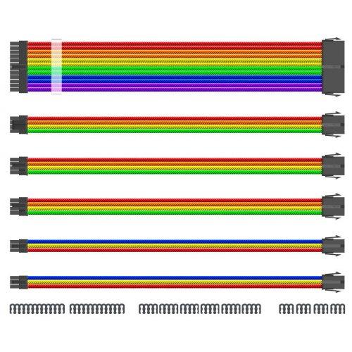 Кабели и переходники, 1stPlayer MOD Cable (RB-001) Rainbow  - купить со скидкой