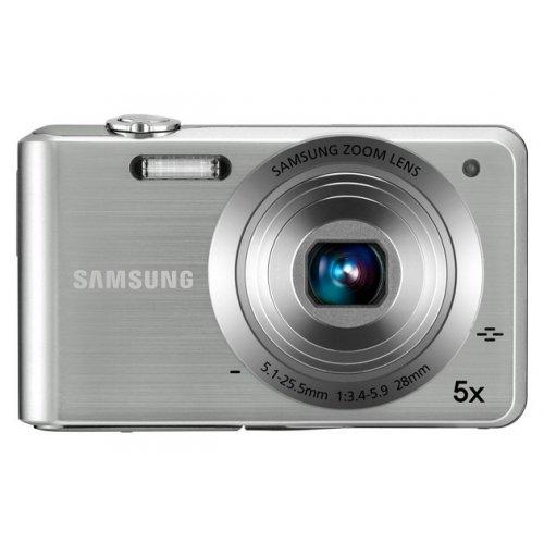 Фото Цифровые фотоаппараты Samsung PL80 Silver