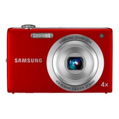 Фото Цифровые фотоаппараты Samsung ST60 Red