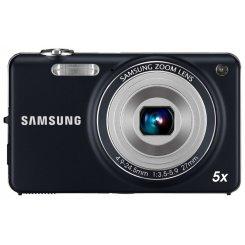 Фото Цифровые фотоаппараты Samsung ST65 Dark Blue