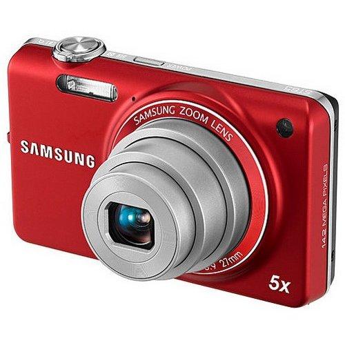 Фото Цифровые фотоаппараты Samsung ST65 Red