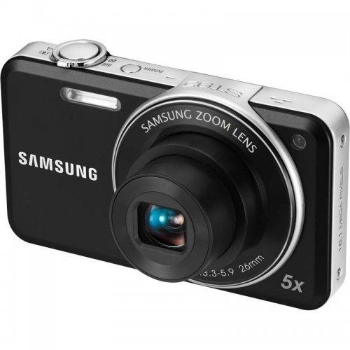 Фото Цифровые фотоаппараты Samsung ST95 Black