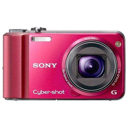 Фото Цифровые фотоаппараты Sony Cyber-shot DSC-H70 Red