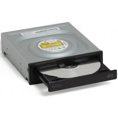 Фото Оптичний привід H-L Data Storage DVD±R/RW 24x SATA (GH24NSD5.ARAA10B) OEM Black