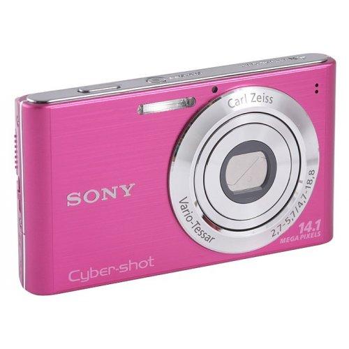 Фото Цифровые фотоаппараты Sony Cyber-shot DSC-W320 Pink