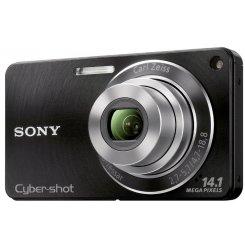Фото Цифровые фотоаппараты Sony Cyber-shot DSC-W350 Black