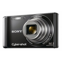 Фото Цифровые фотоаппараты Sony Cyber-shot DSC-W370 Black