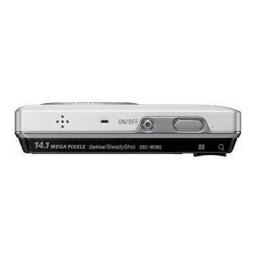 Фото Цифровые фотоаппараты Sony Cyber-shot DSC-W380 Silver